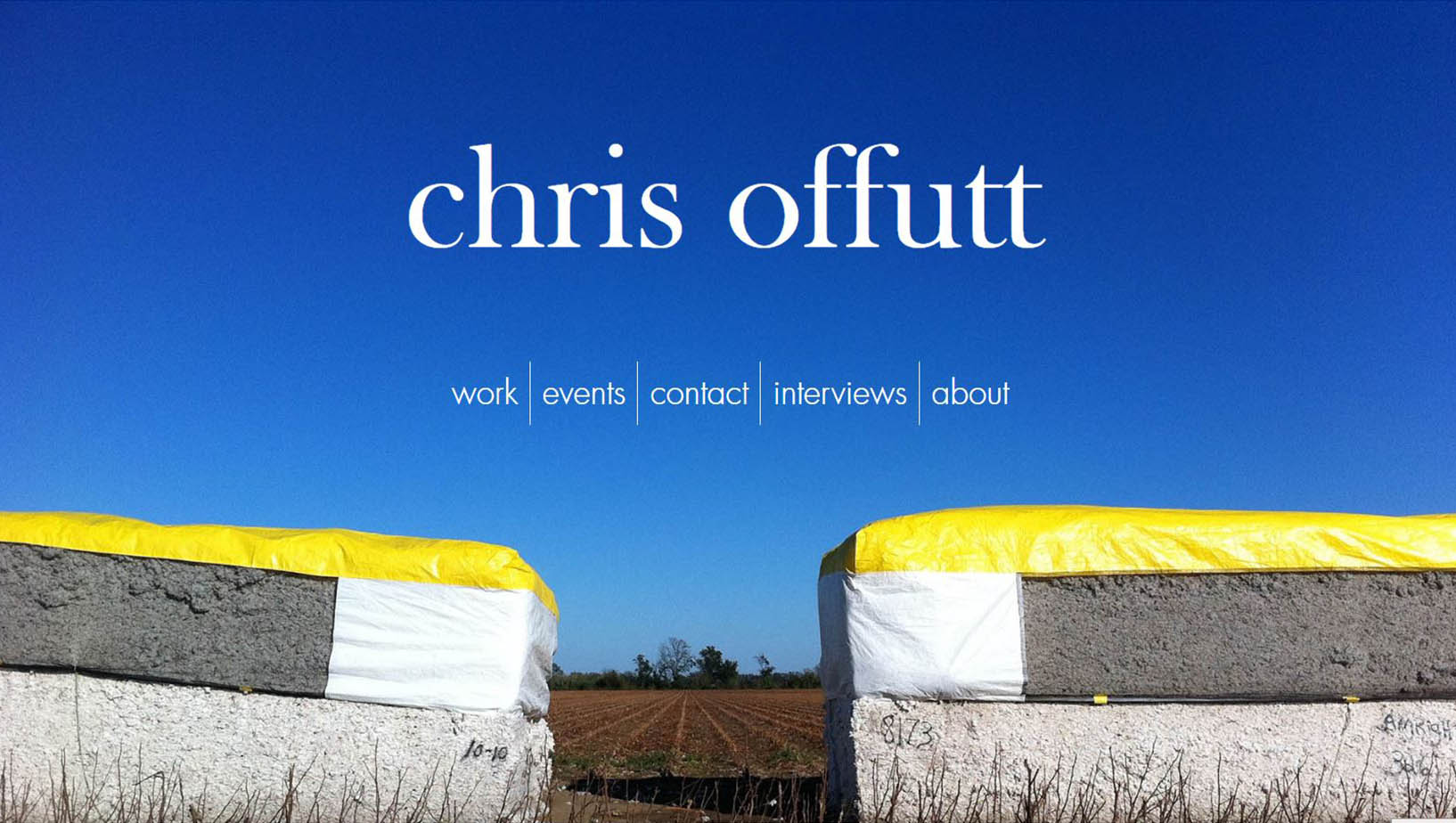 Chris Offutt  |  Author website