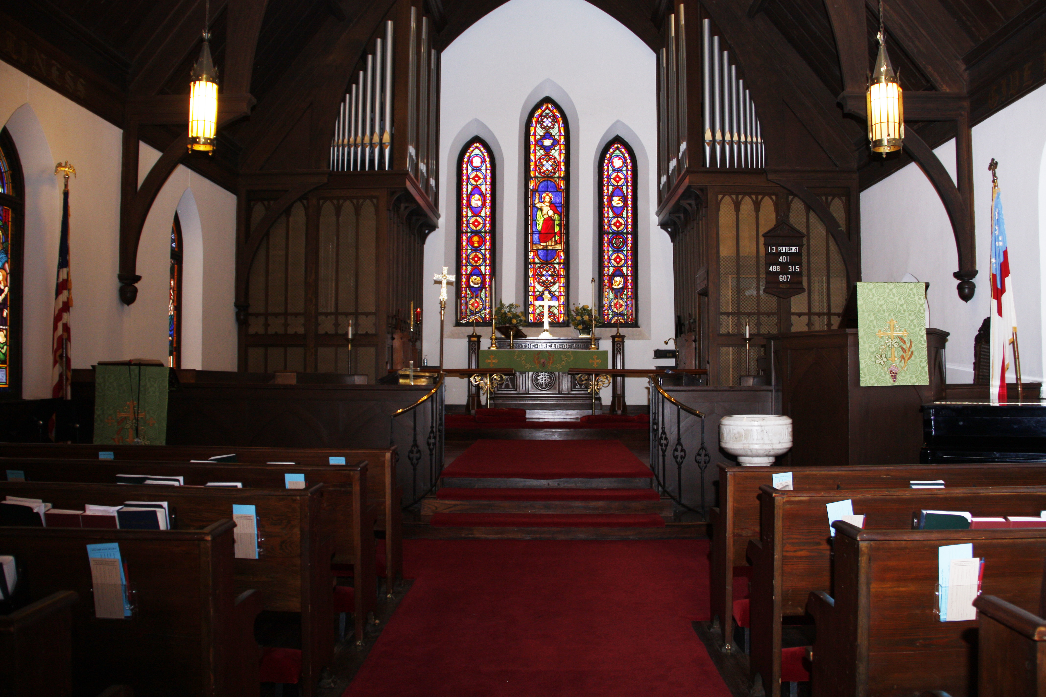Saint Peter's Episcopal Churchl  |  Violin church performance (accompanied by organ)